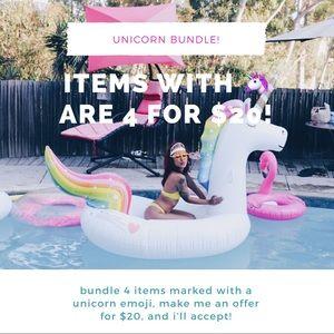 unicorn bundle! 4 for $20!